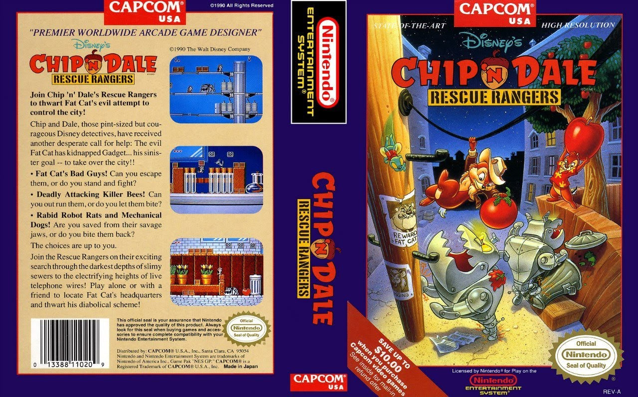 Chip n Dale Rescue Rangers (PDF+GPX tabs for guitar)