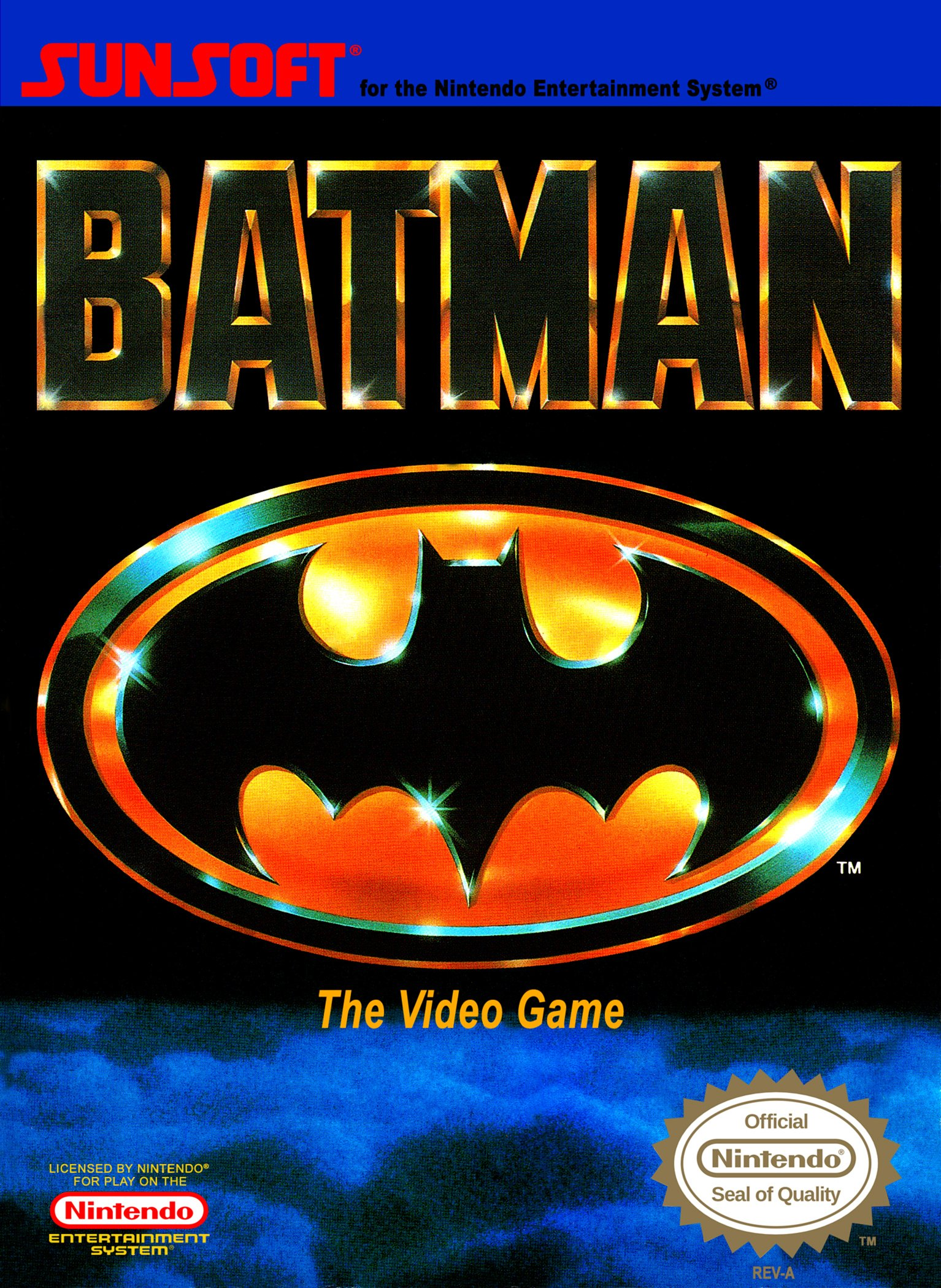 Ноты для гитары! Batman (NES) – Underground conduit