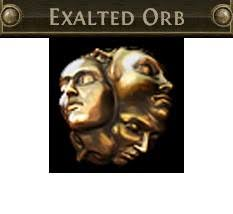 I sell the sphere of exaltation (Exalted) Path of Exile