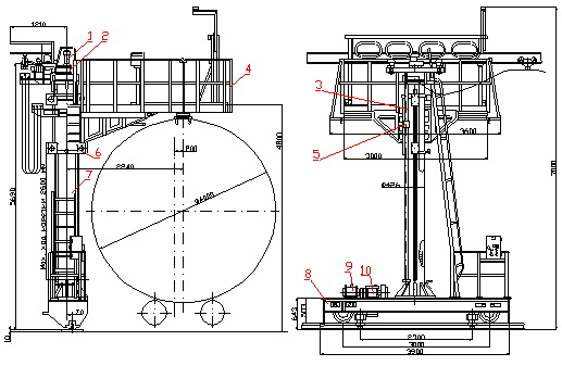 Drawing bicycle carts BT-3