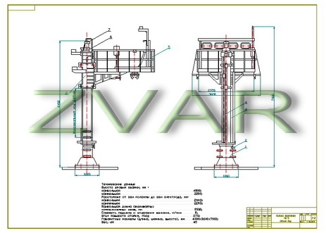 Drawing column welding PC3