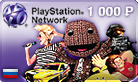 PLAYSTATION NETWORK (PSN) 1000 rubles