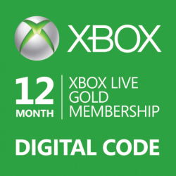 Xbox Live Gold subscription 12 months 2019