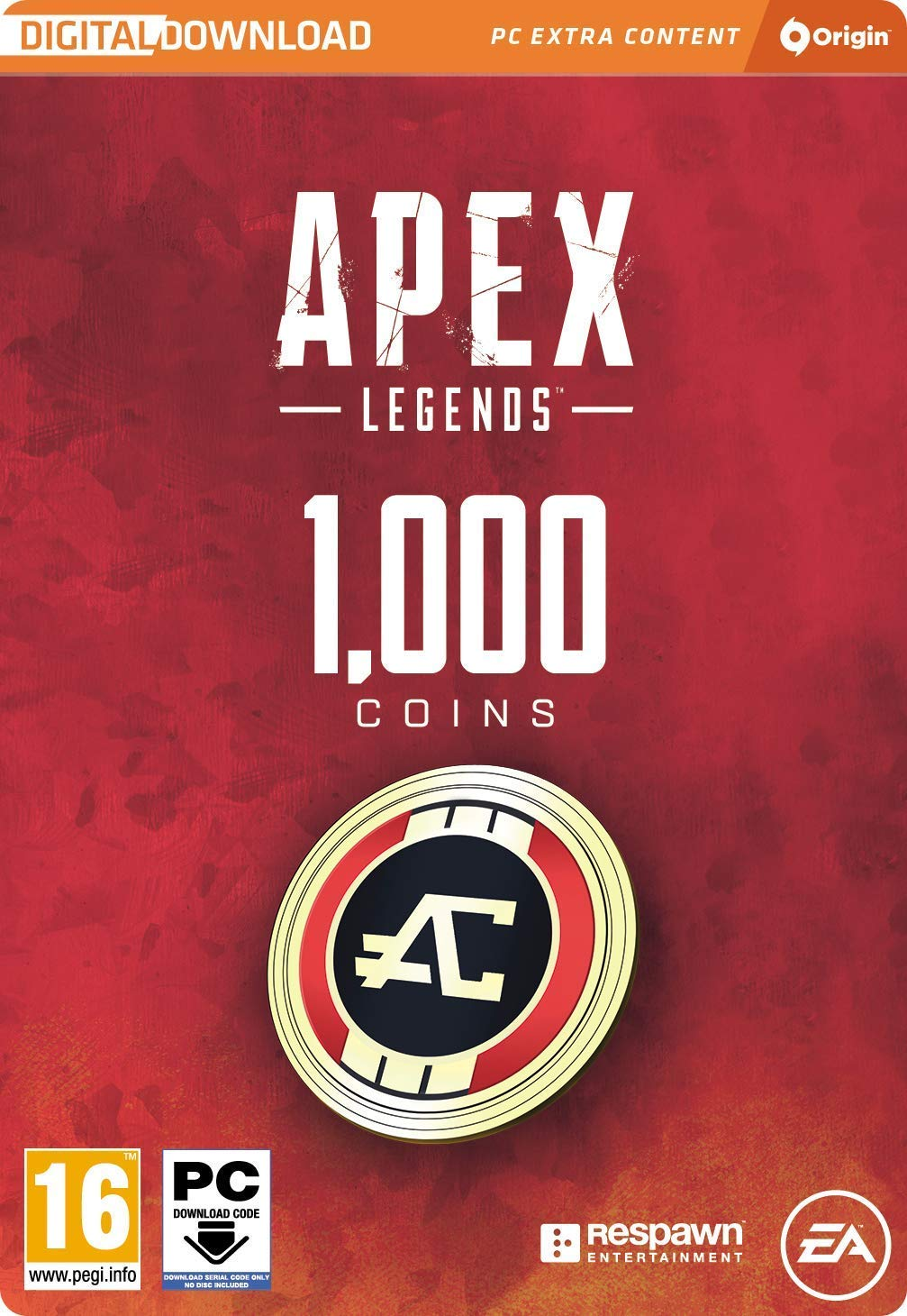 Apex Legends 1000 Coins Origin Key (Global/Region Free)