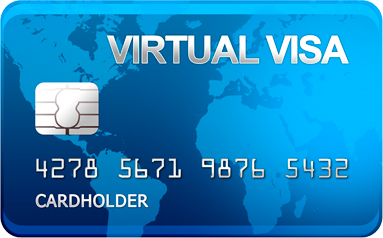 100 $ VISA VIRTUAL Statements in real time