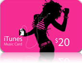 iTunes Gift Card 20 $ (USA)