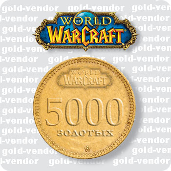 5000 GOLD WOW. ALL RUSSIAN SERVER. Security.