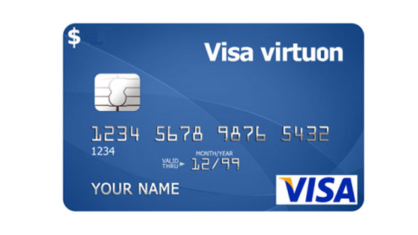 3 $ Visa Virtual Skype PayPal Amazon iTunes RUS bank
