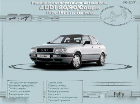 Multimedia guide for repair and maintenance AUDI80
