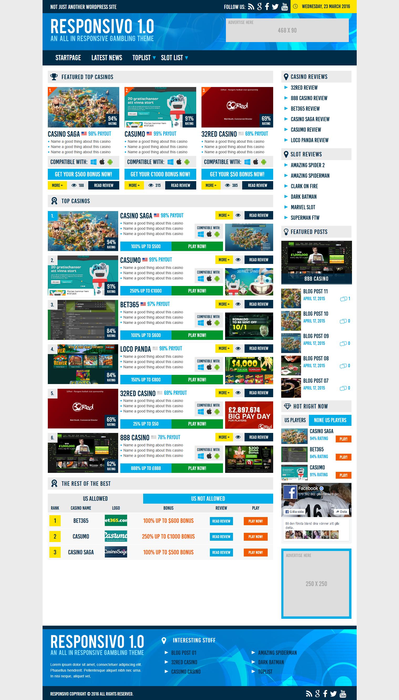 Gambling affiliate wordpress themes miccosukee hotel and casino