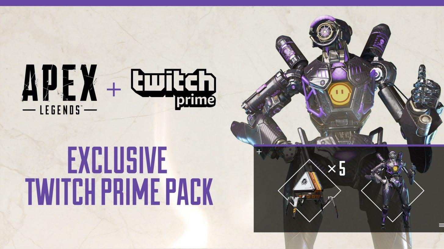 APEX Legends: Twitch prime bundle 2019