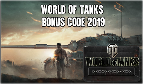 World of Tanks bonus code 2019