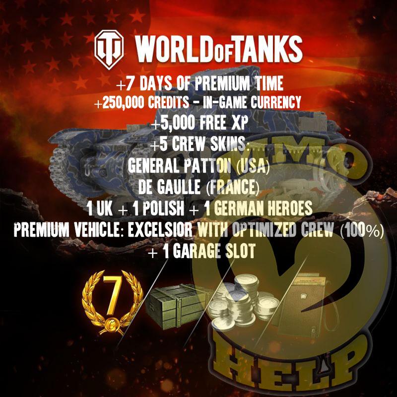 World of Tanks invite code 2019