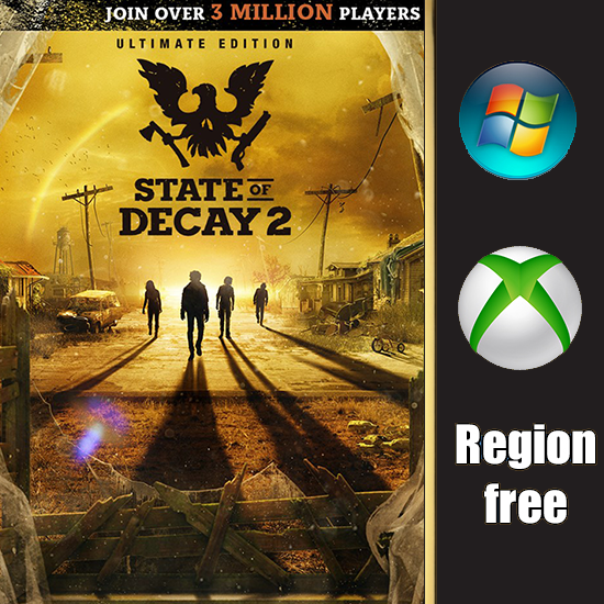 State of Decay 2: Ultimate edition + все DLC PC, Xbox