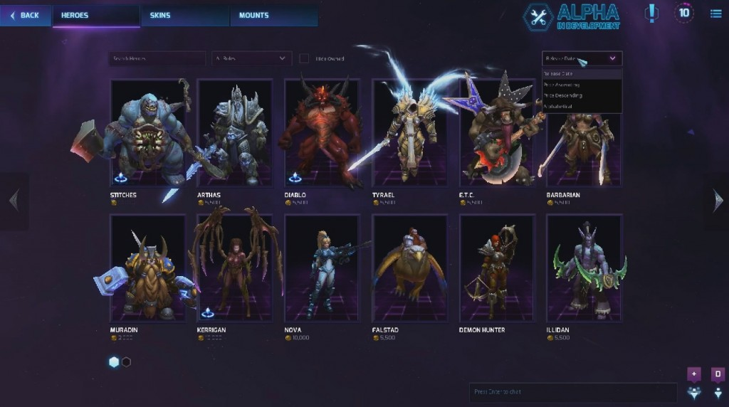 Heroes of the Storm - BETA - Key HOTS(RU\EU)
