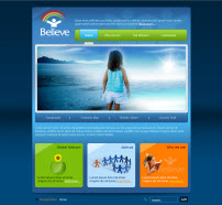 Believe template for CMS Joomla