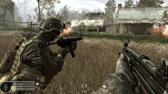Call of Duty 4: Modern Warfare (Steam aккаунт )