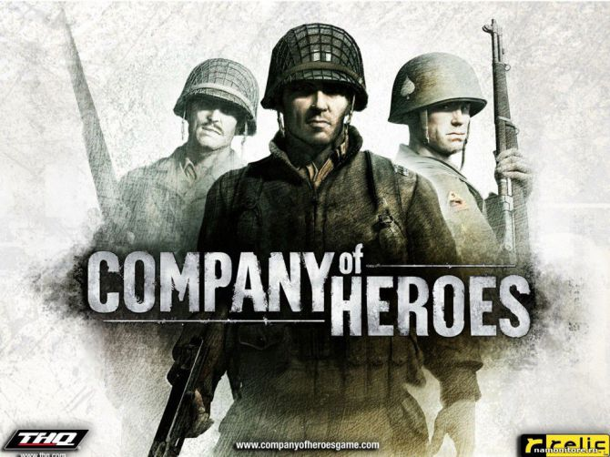 Company of Heroes (Steam Аккаунт) + 4 игры
