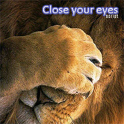 CLOSE YOUR EYES script for instant closing orders