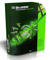 Antivirus Dr.Web Security Space, на 12 месяцев 1 ПК