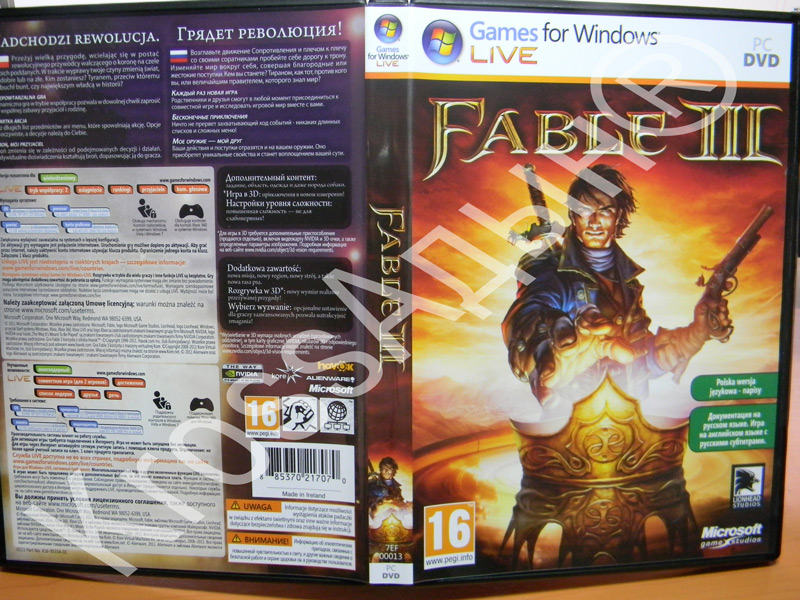 fable 3 activation key location