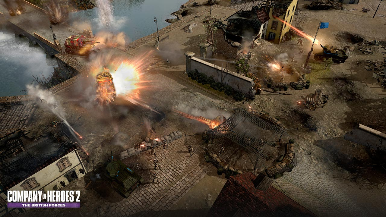 Company of Heroes 2: The British Forces (Steam KEY)