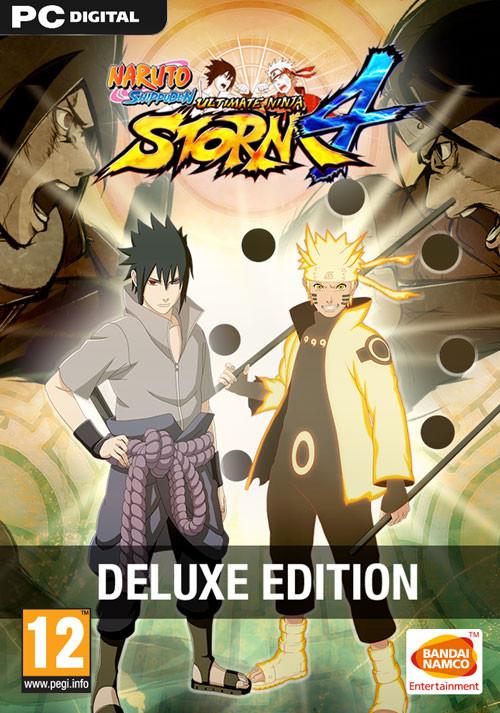 Naruto SUN Storm 4 Deluxe Edition +Season Pass +Fighter