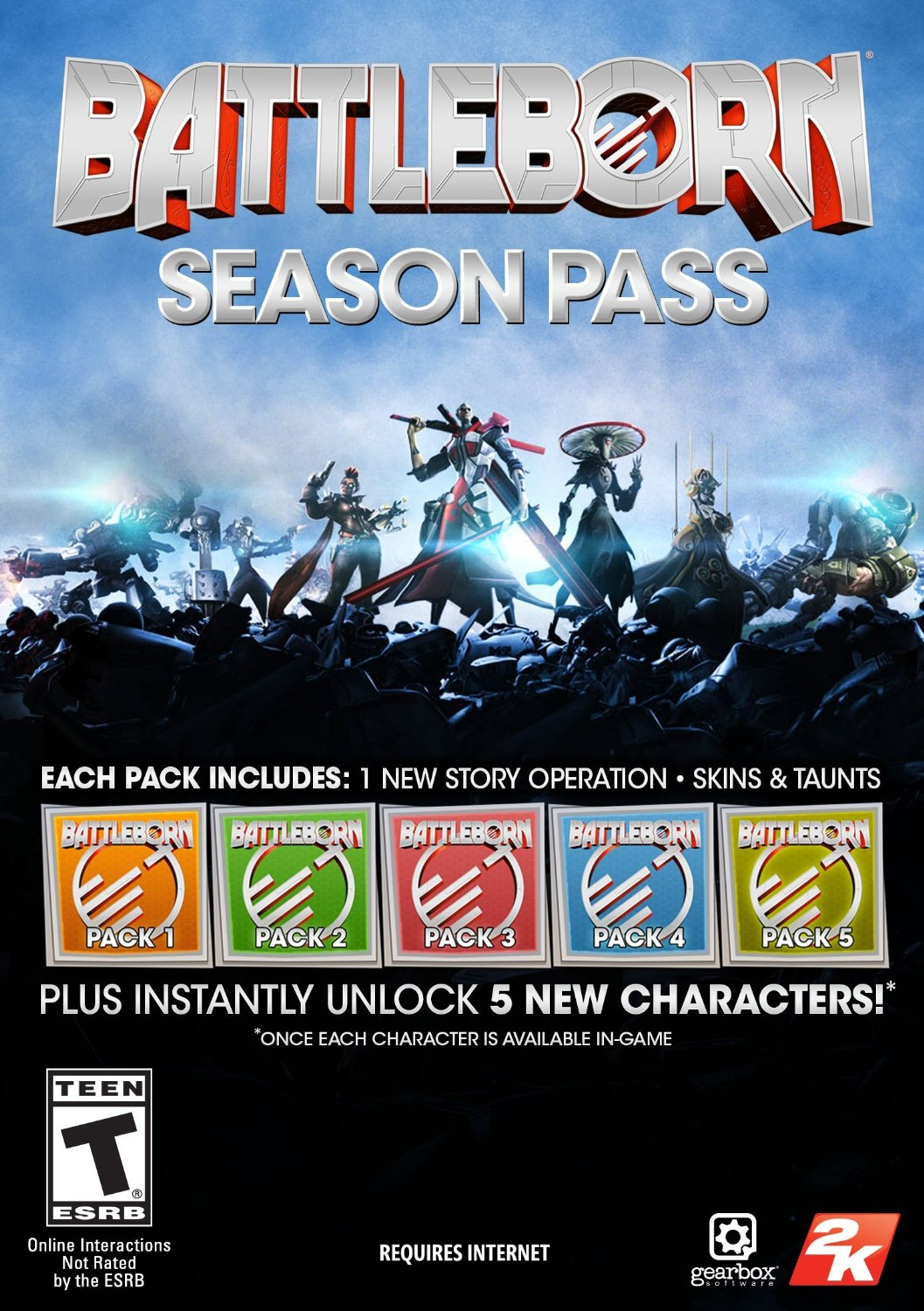 Season Pass - DLC Battleborn(Steam KEY)