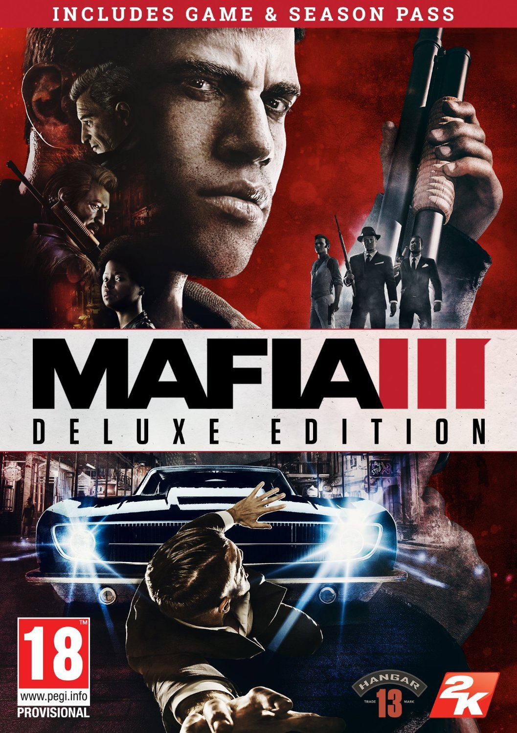 Mafia 3/III Digital Deluxe Ed. (Steam KEY) +Season Pass