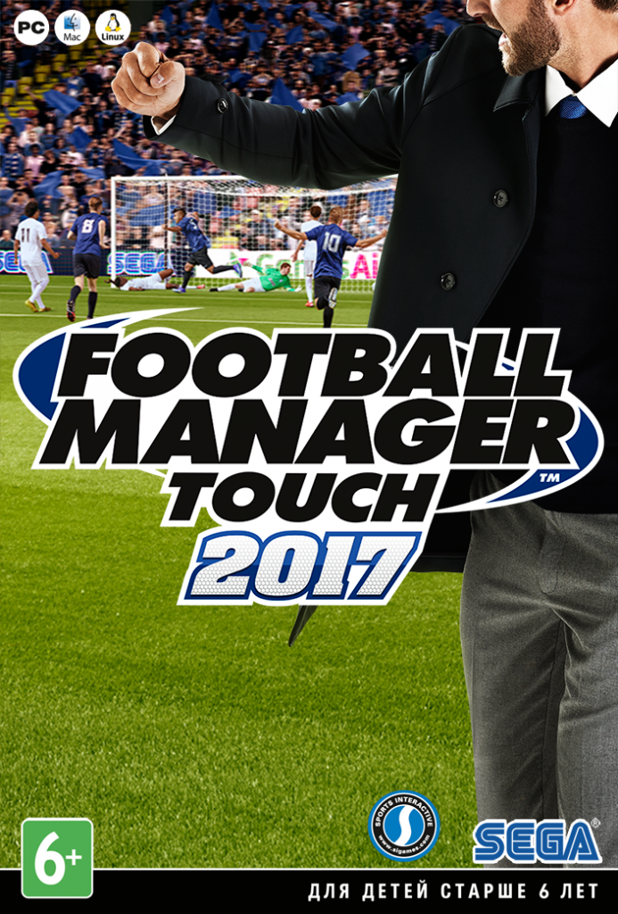Football Manager Touch 2017 (Steam KEY\RU&CIS)