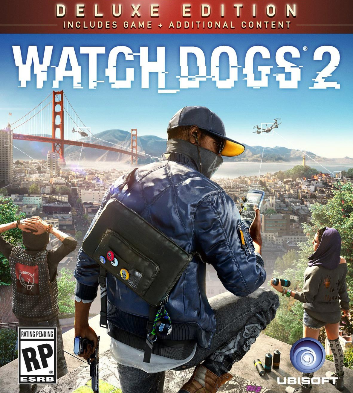 Watch Dogs 2 Deluxe Ed.(Uplay KEY)+Street Art +PUNKS