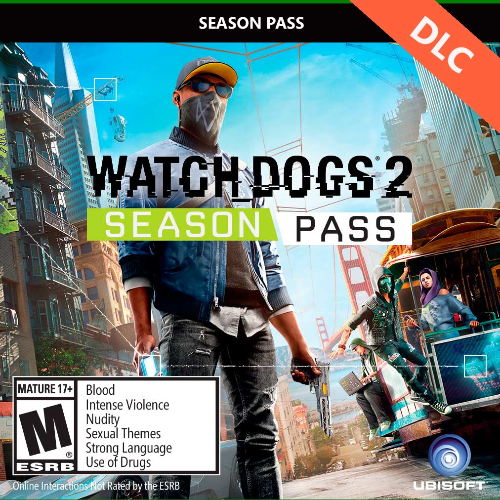 Season Pass - Watch_Dogs 2 (Uplay KEY) Созонный пропуск