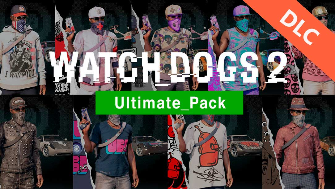 DLC-Ultimate Pack/Watch_Dogs 2 (Uplay KEY)