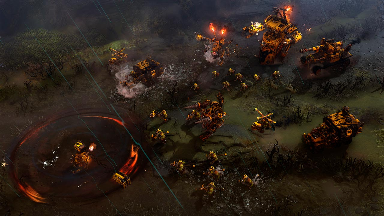 Warhammer 40k:Dawn of War III / 3 (Steam KEY/RU&CIS)