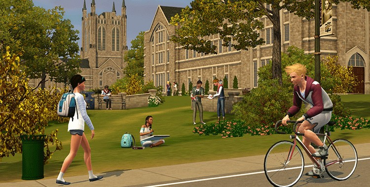 The Sims 3 Student Life University life + GIFT