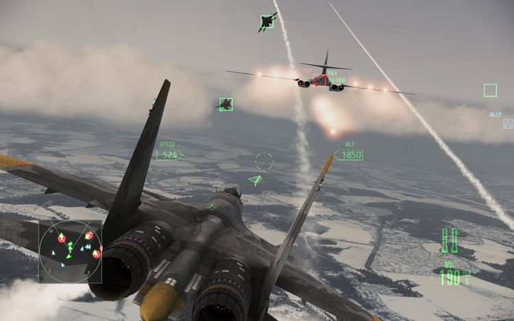 ЯACE COMBAT Assault Horizon (GFWL/RegionFREE) +ПОДАРОК