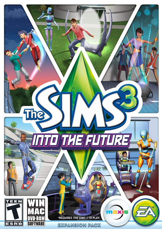 The Sims 3 Forward to the Future (Into the Future) + GI