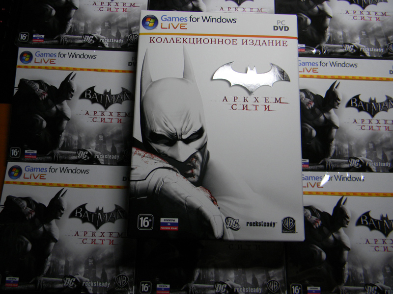 Batman: Arkham City GOTY  (Key/Region FREE) +ПОДАРОК