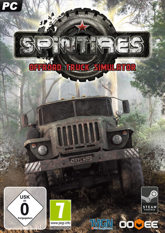 Spintires (Steam KEY) + gifts and disco