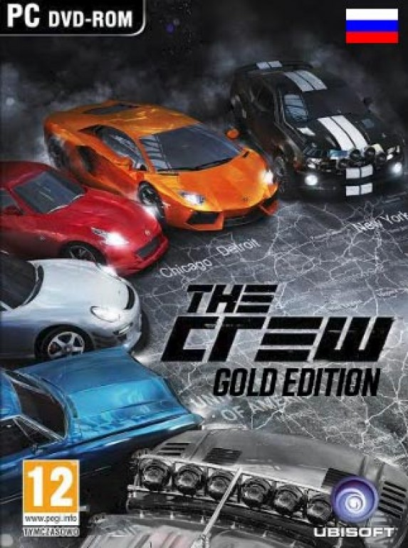 The Crew Gold Edition + Season Pass + gifts and disc