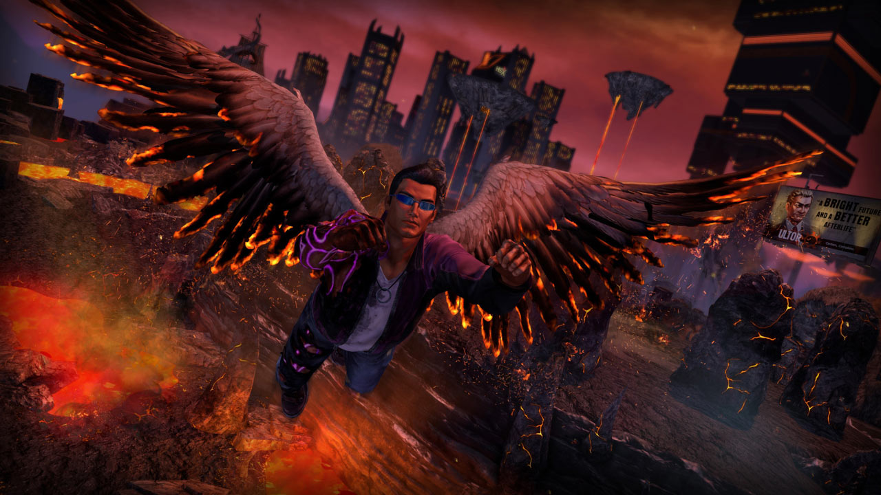 Saints Row 4: Re-Elected + Gat Out + DLC + GIFTS