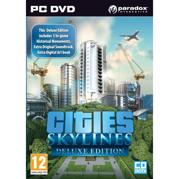 Cities: Skylines. Deluxe Edition (Steam) + GIFTS
