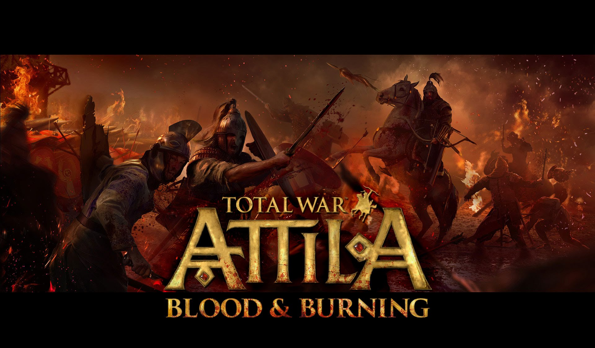 Total War ATTILA: DLC  - Blood and Burning +СКИДКИ