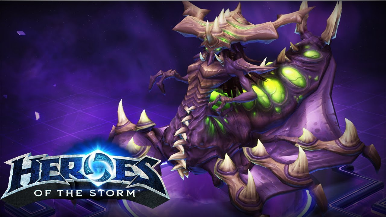 HERO (Heroes Of The Storm)- Zagara Region Free