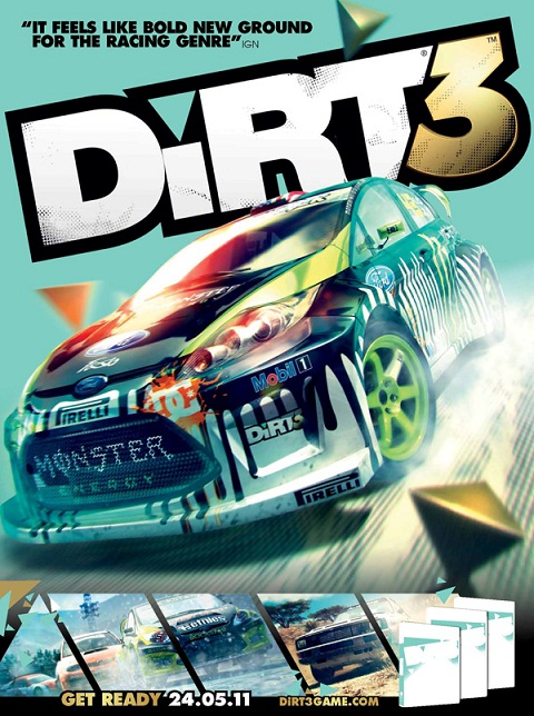 Colin McRae: DiRT 3 (Steam key | Region Free)