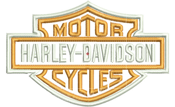 "Embroidery Machine ""Harley Davidson"""