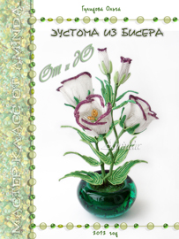 Eustoma bead. From To