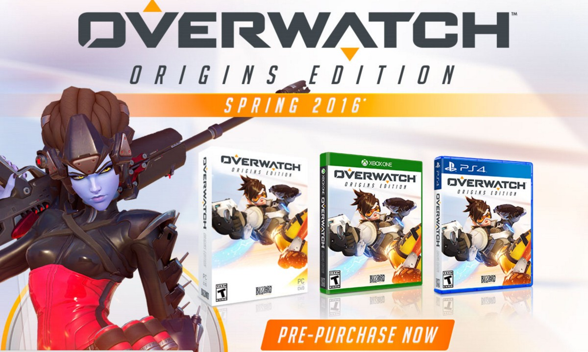 OVERWATCH ORIGINS EDITION KEY GLOBAL MULTI