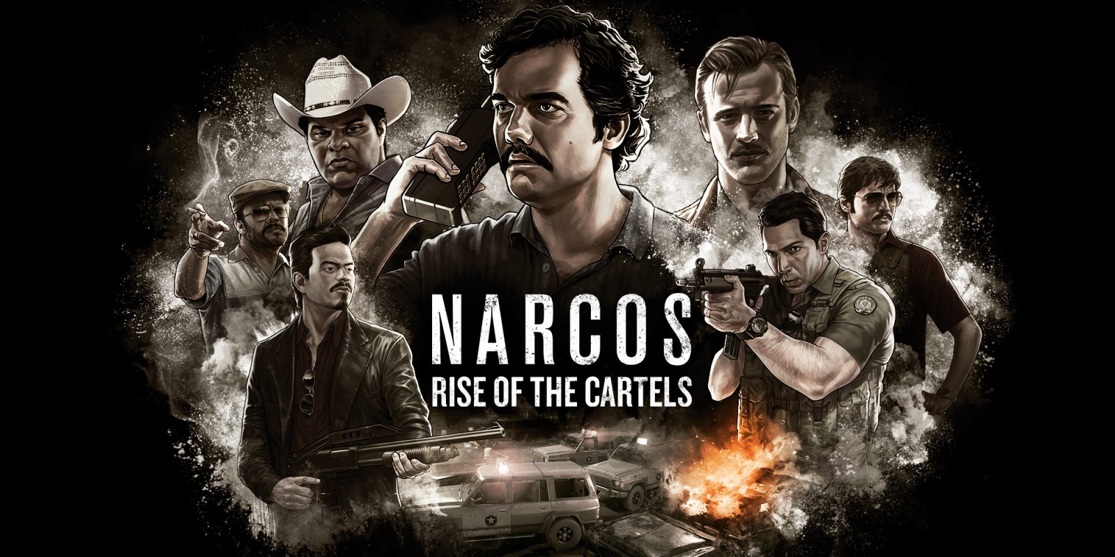 NARCOS: RISE OF THE CARTELS Steam Rus