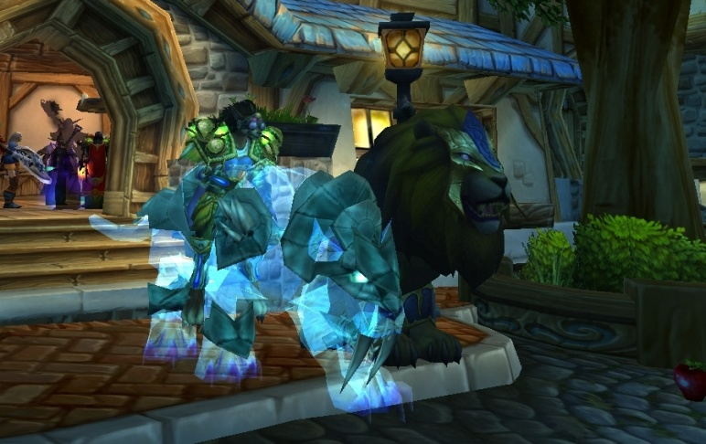 Reins of the Spectral Tiger frisky in armor (SPECTRAL)